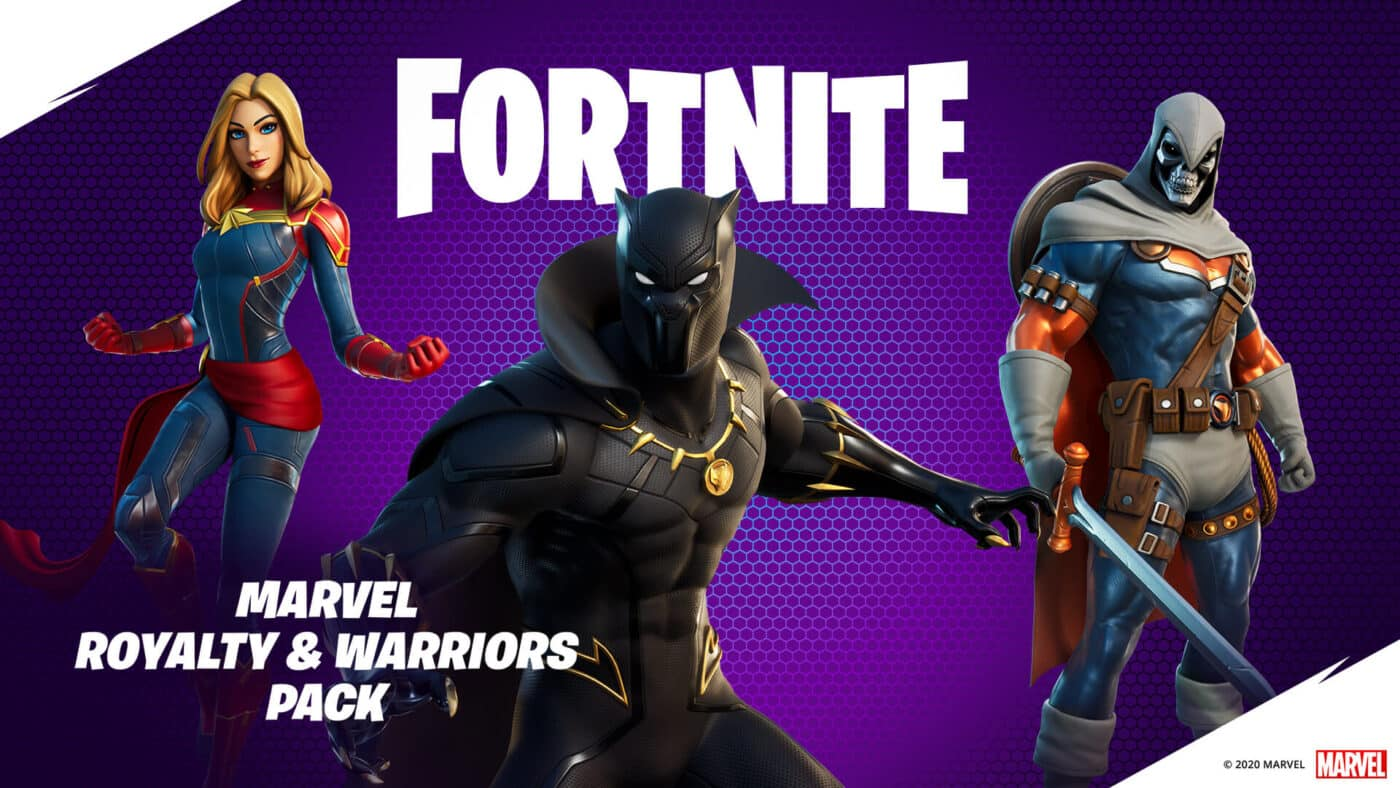 THE MARVEL ROYALTY AND WARRIORS PACK