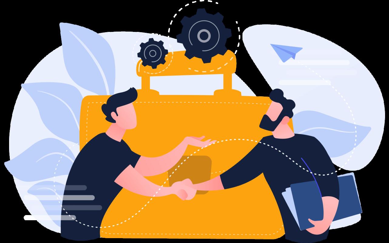partnerships - همکاری با ما