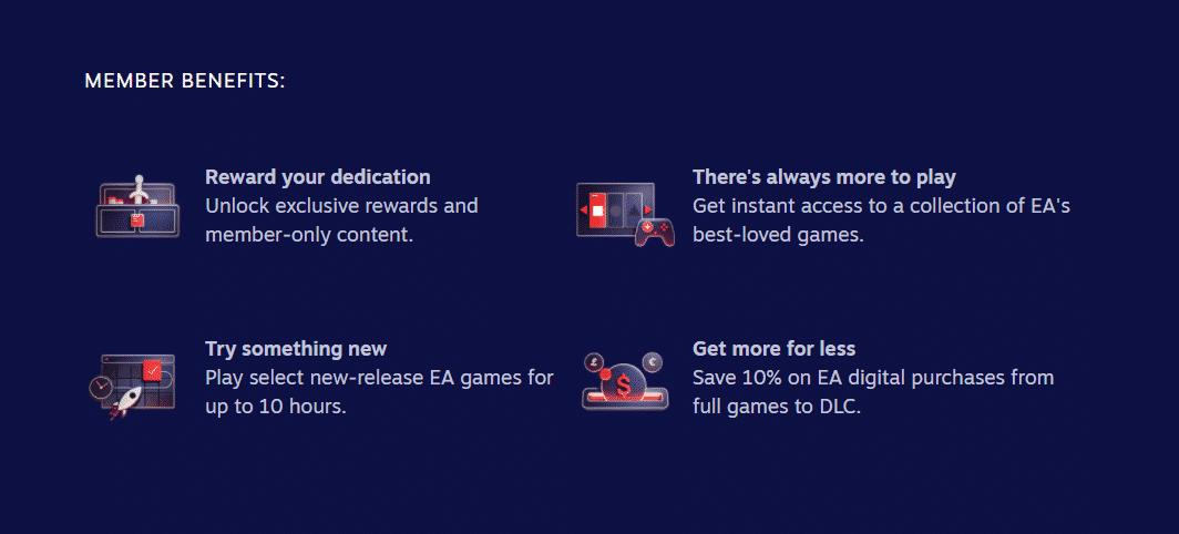 خرید اشتراک EA Play برای استیم - کافه گیم